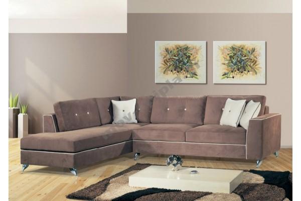 Γωνιακός καναπές νέο σχέδιο ΣΓ 13